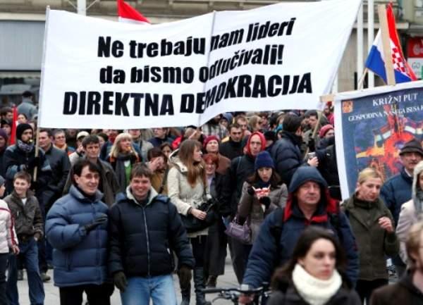 S prosvjeda u ožujku 2011.