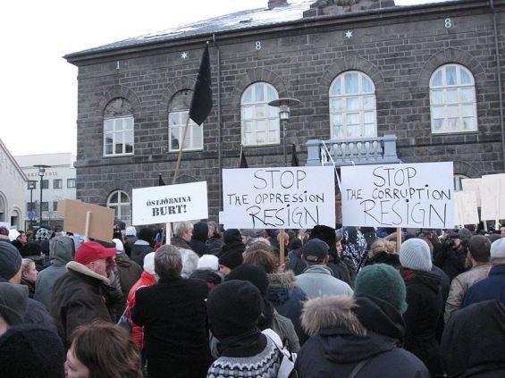 Protest-protiv-korupcije-Island-2009