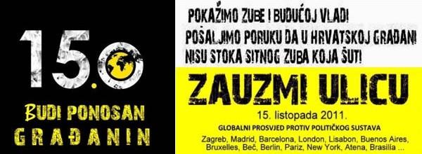Duh VREMENA: Budite dio globalne akcije 15.listopad, pridružite se prosvjedu!