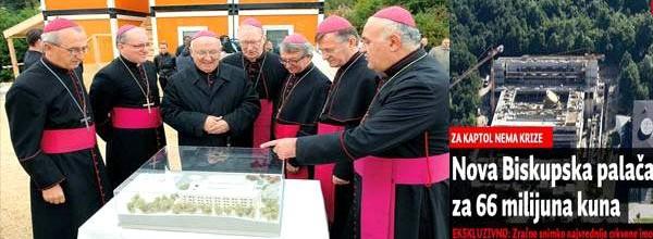 Biskupi su lagali-Hrvatski građani ipak financiraju luksuznu zgradu HBK